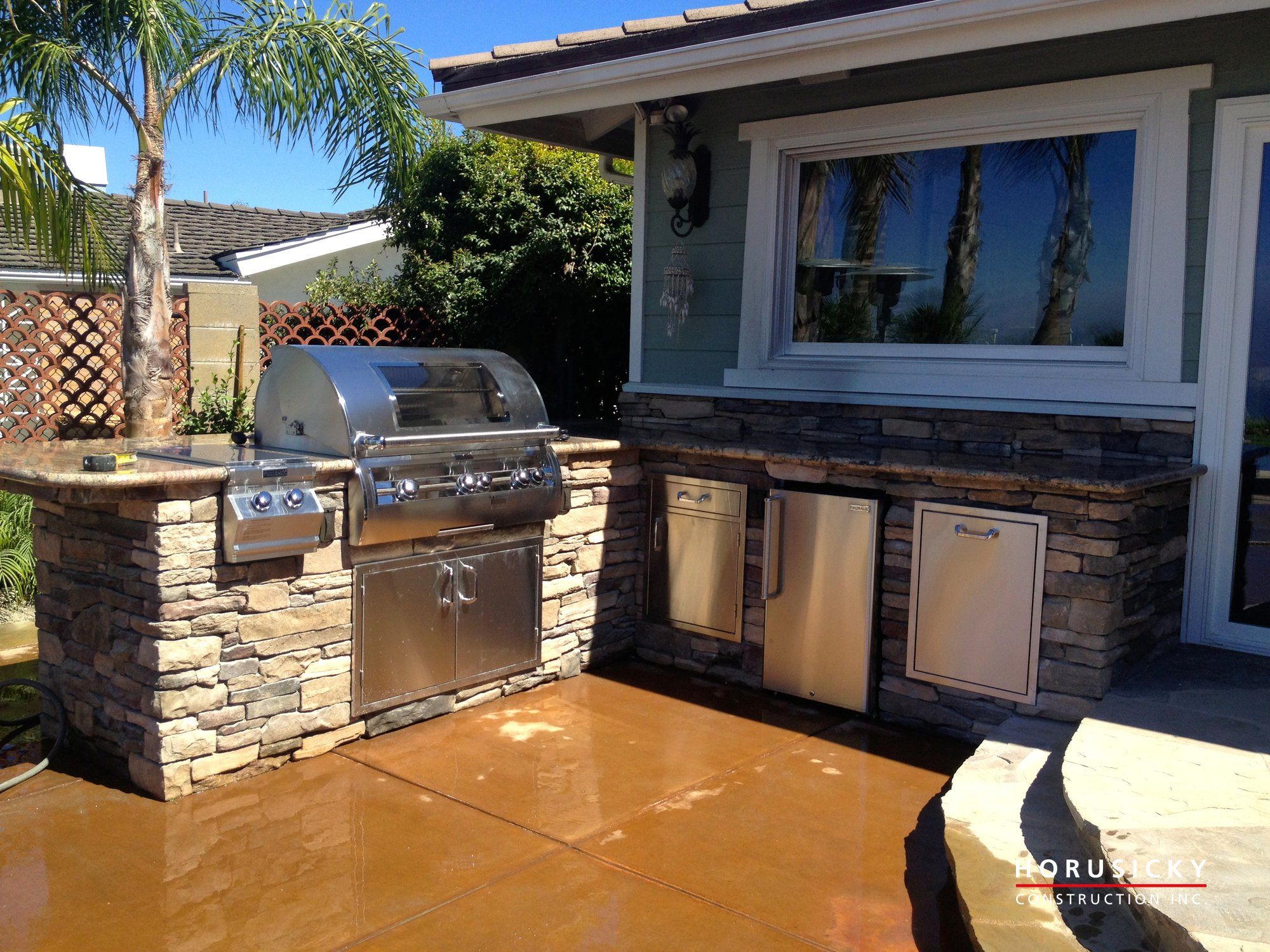 outdoor kitchens and bbq grills horusicky construction
