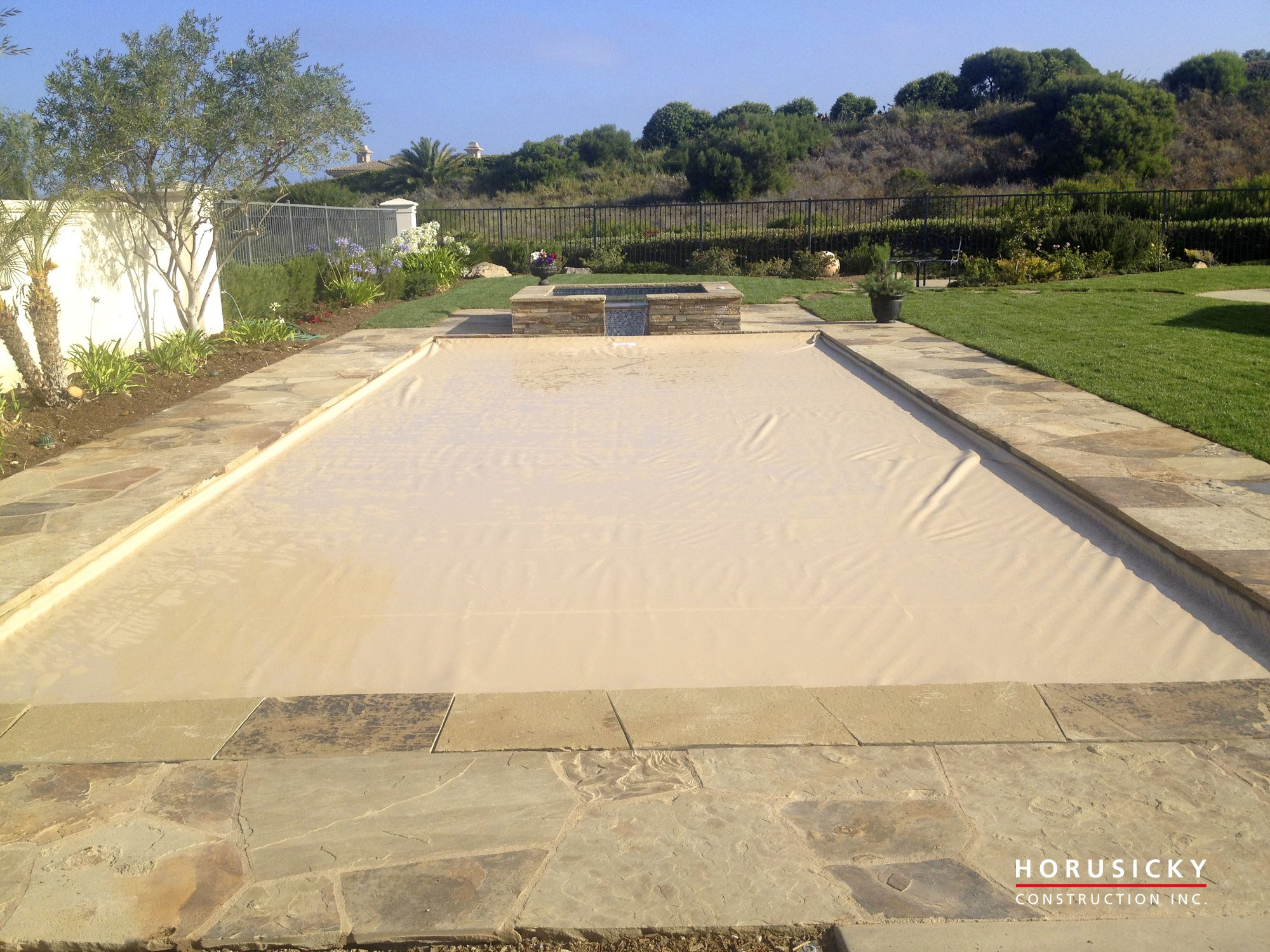 Pool Cover Construction : Pool cover by horusicky construction